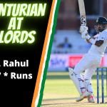 KL Rahul Gets The Honour's – Becomes 10th Indian To Score A Century At Lords